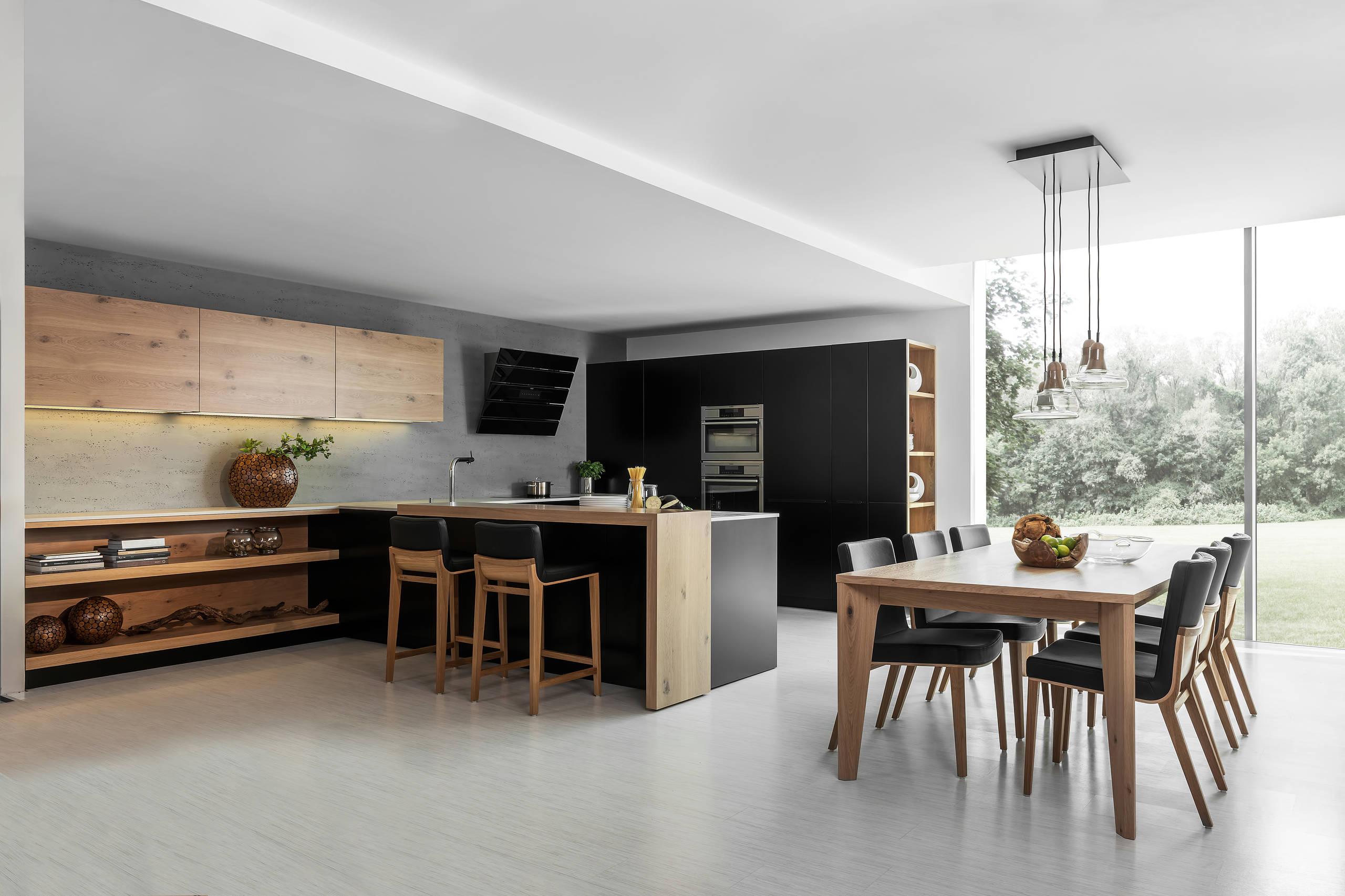 luxury kitchen dining